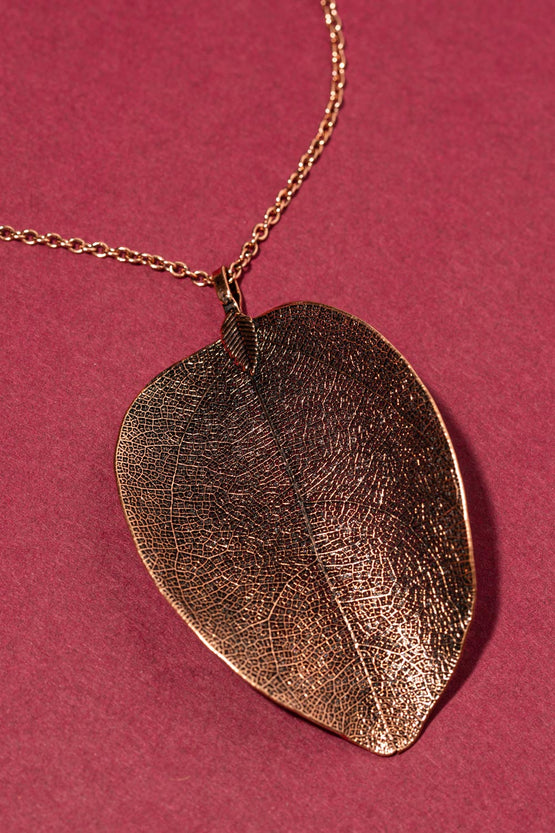 Type 3 The Last Leaf Necklace