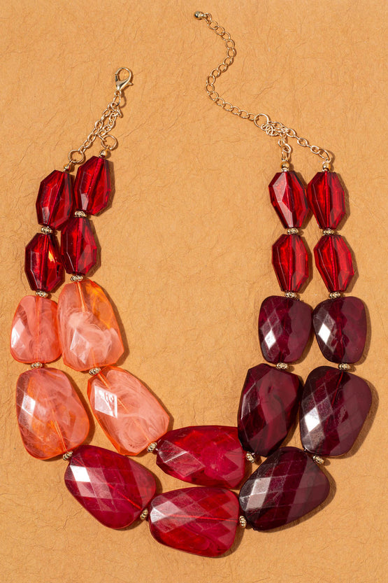 Type 3 Ruby Rich Necklace