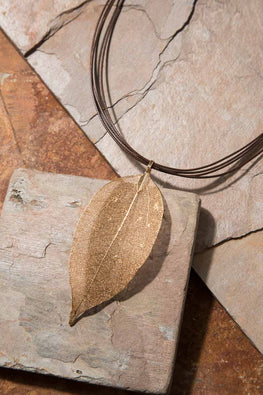 Type 3 Gold Vein Necklace