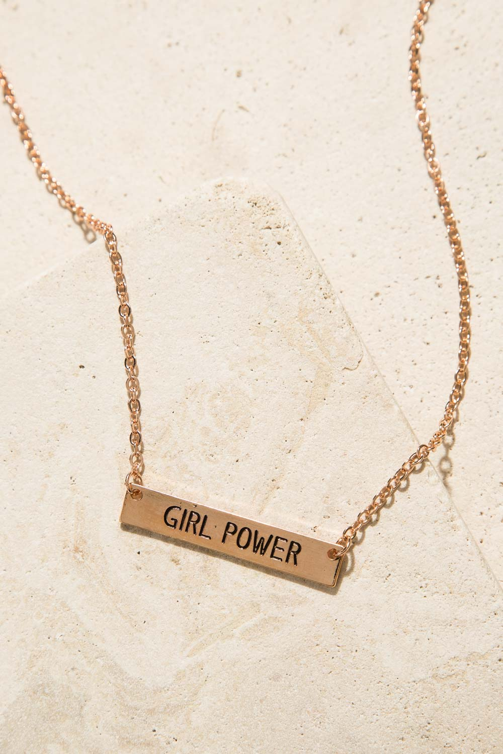 Type 3 Girl Power Necklace