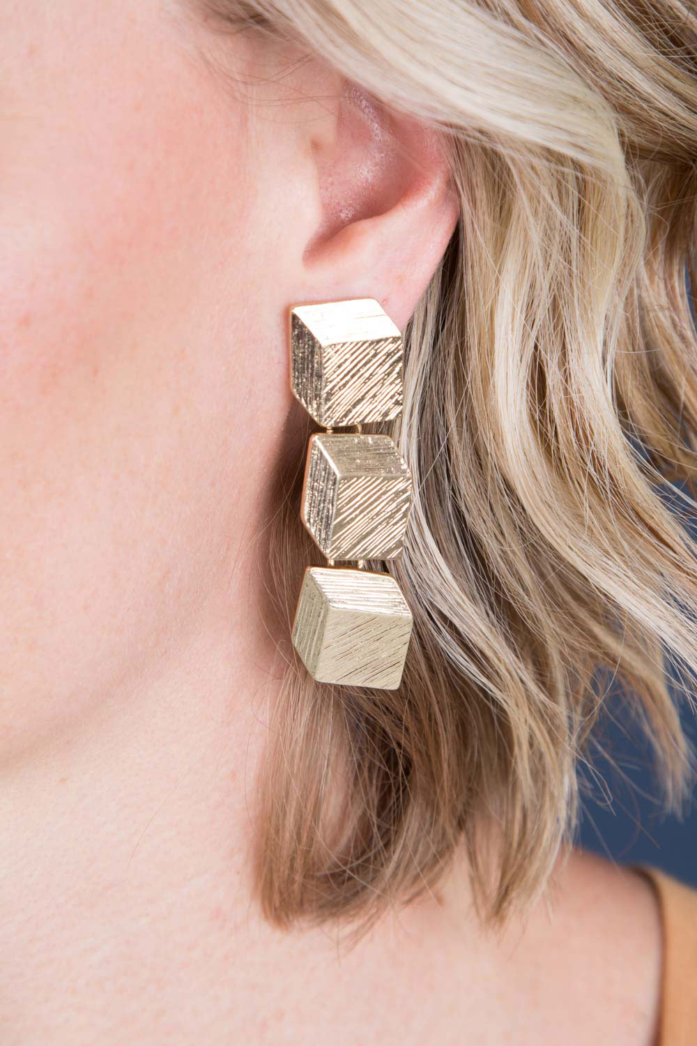 Type 3 Box It Up Clip On Earrings