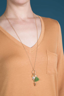 Type 3 Green Treasure Necklace