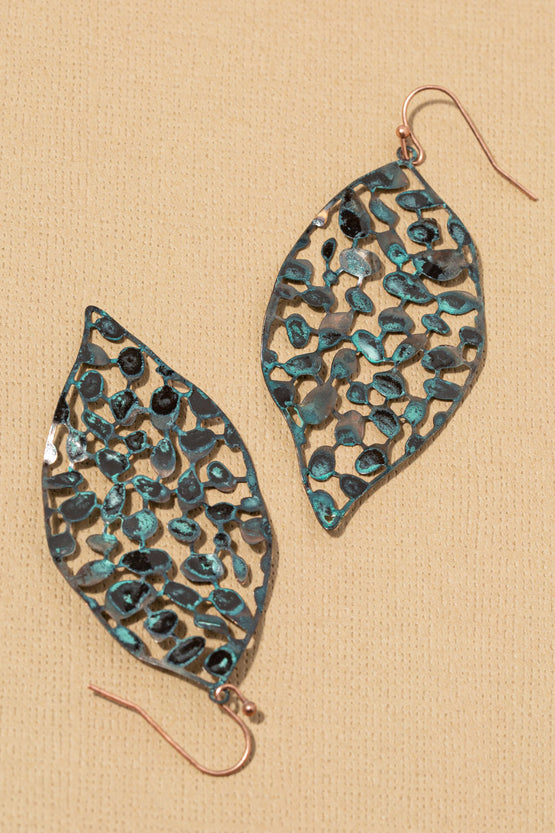 Type 3 Falling Leaf Earrings