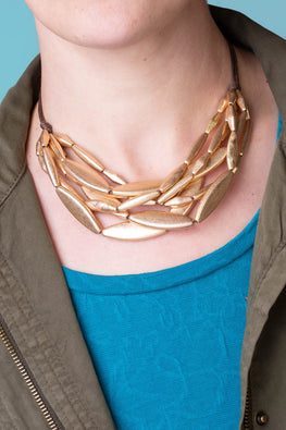 Type 3 Brass on the Case Necklace