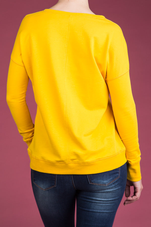 Type 3 Saffron Swift Sweater