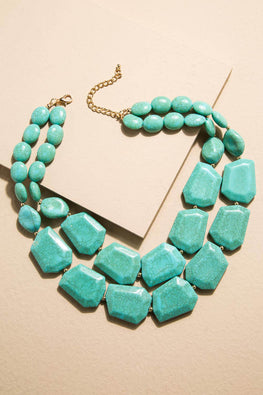 Type 3 Turquoise Strands Necklace