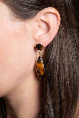 Type 3 The Tortoise & The Flare Earrings