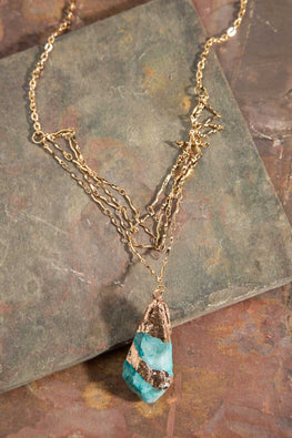 Type 3 Golden Isle Necklace