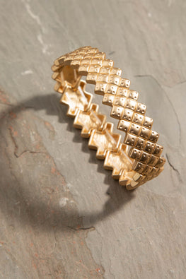 Type 3 Golden Grid Bracelet
