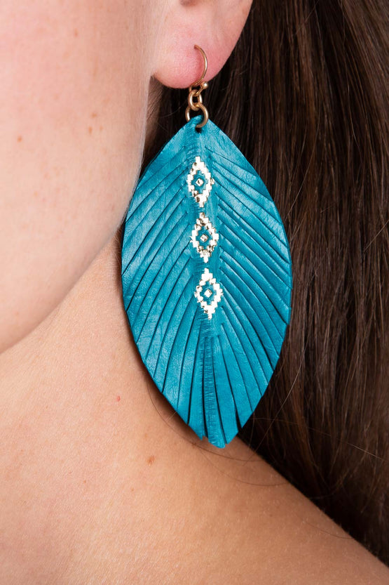 Type 3 Teal Me Again Earrings