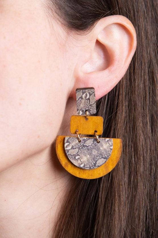 Type 3 Practical Python Earrings