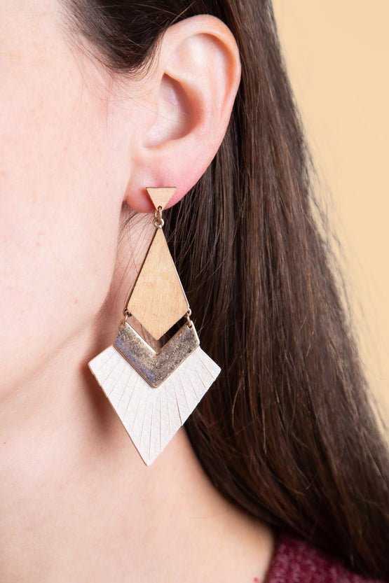 Type 3 Daring Deco Earrings