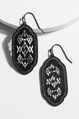 Type 4 Black Salt Earrings