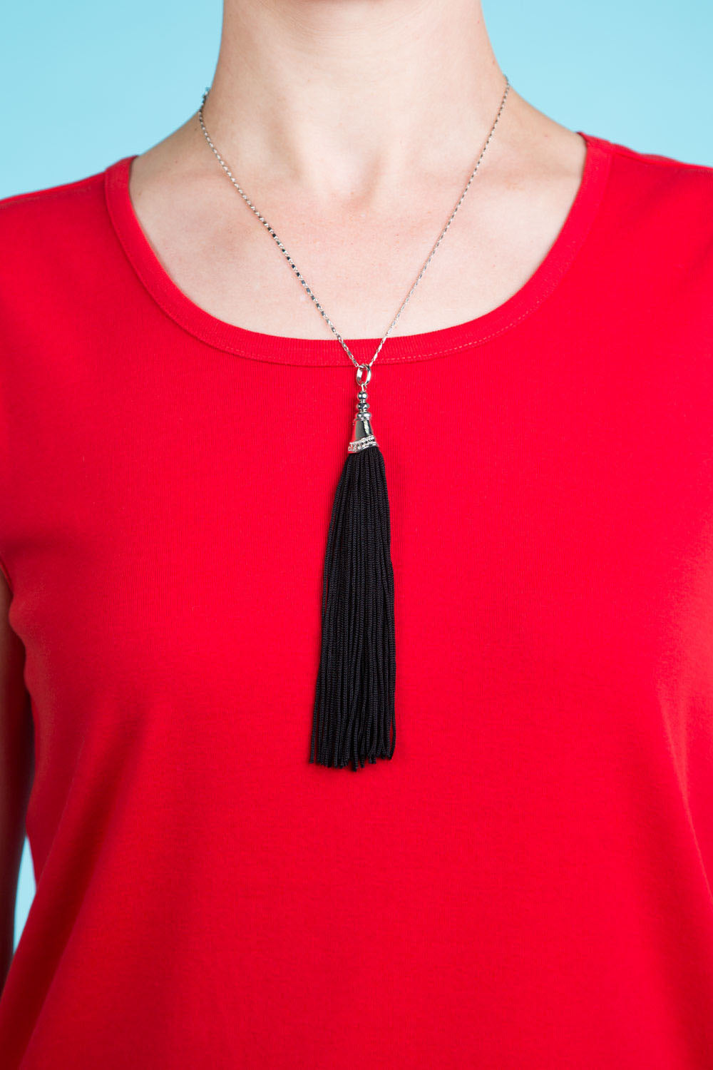 Type 4 No-Hassel Tassel Necklace