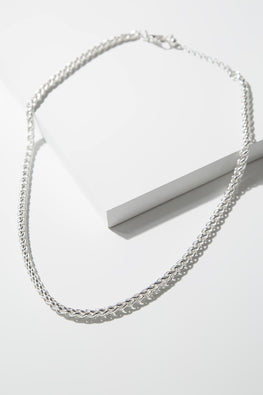 Type 4 Silver Silver Necklace