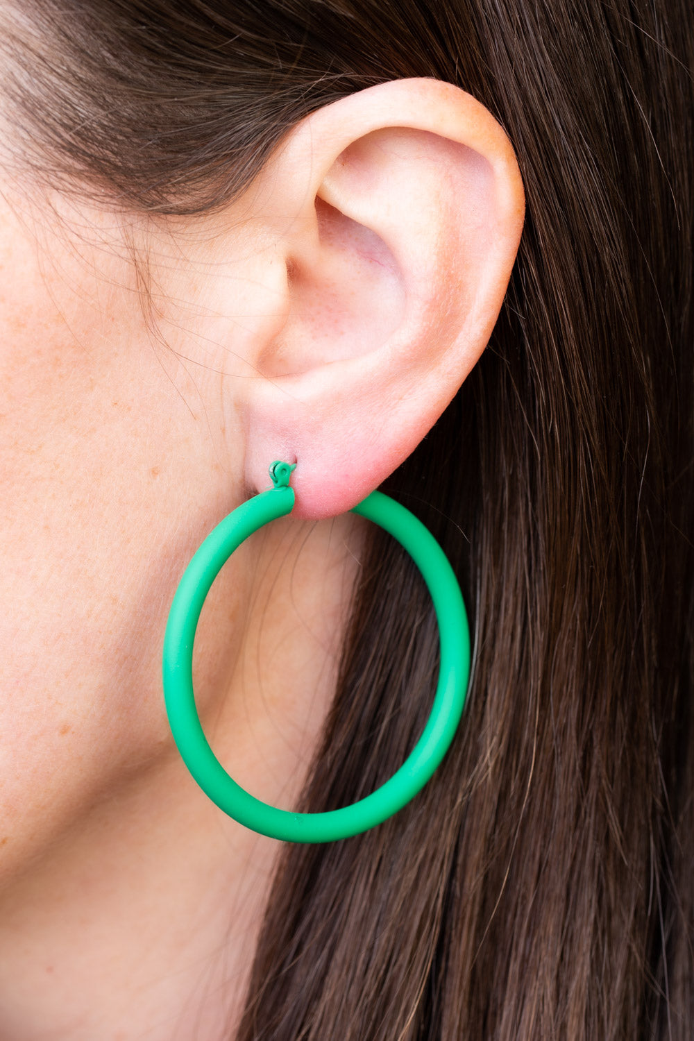 Type 4 Gracious Green Earrings