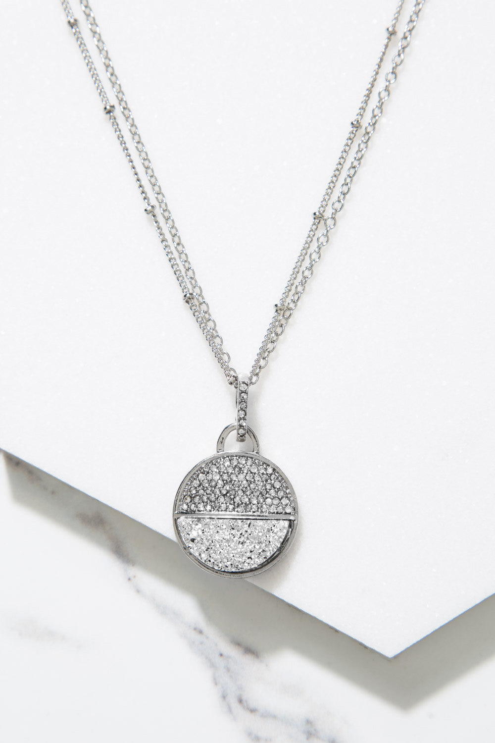 Type 4 Half Moon Necklace