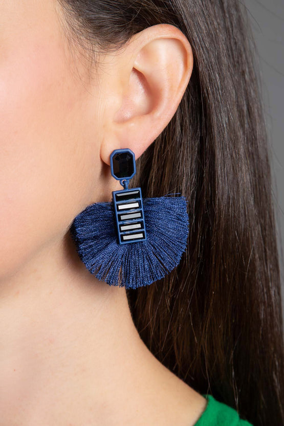 Type 4 Midnight Flourish Earrings