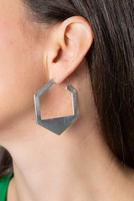 Type 4 Her-Xagon Earrings