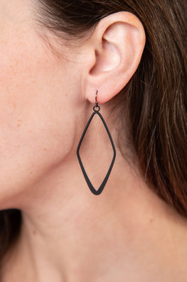 Type 4 Black Diamond Earrings