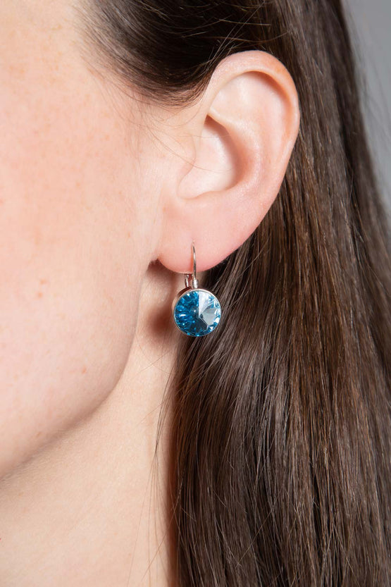 Type 4 You're A Gem Earrings in Icy Blue