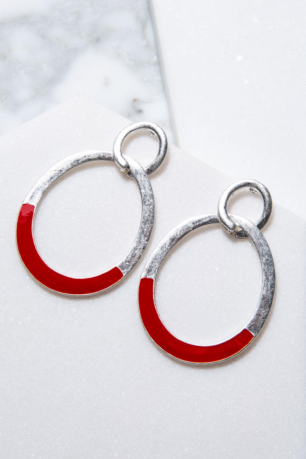 Type 4 Red Alert Earrings