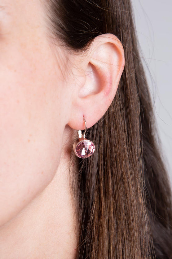 Type 4 You're a Gem Earrings in Icy Pink