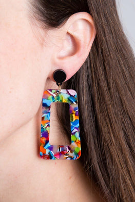 Type 4 Art Show Earrings