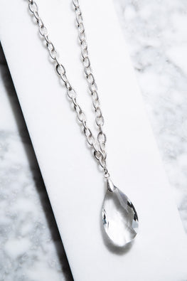 Type 4 Crystal Clear Necklace