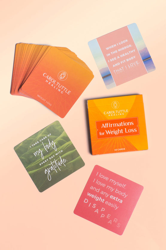 Weight Loss Affirmation Cards