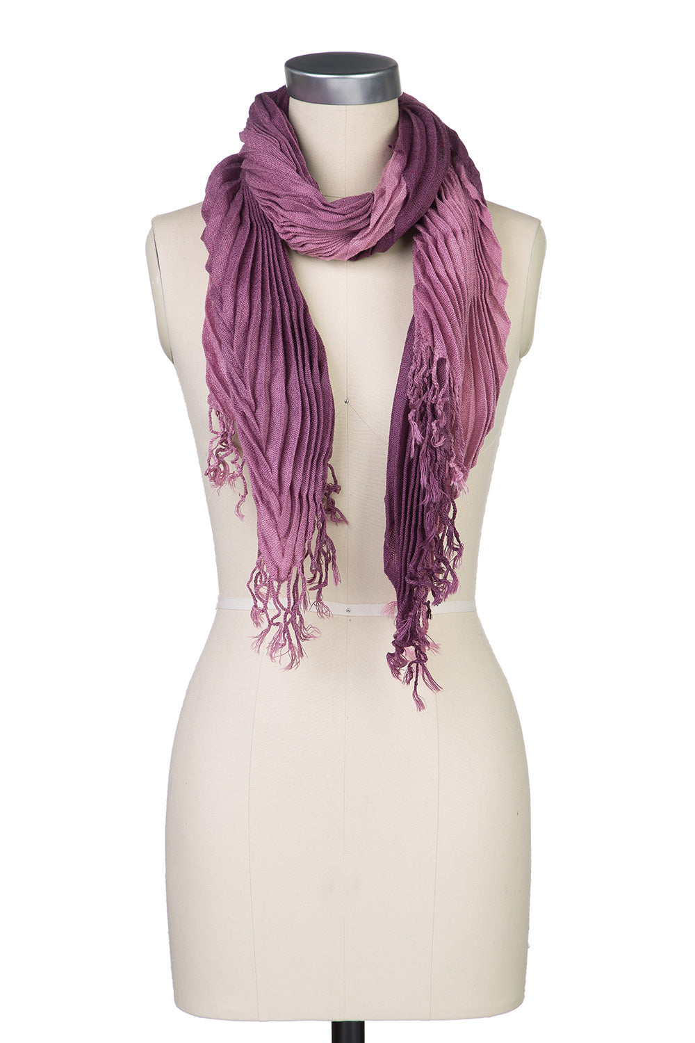 Type 2 Accordion Ombre Scarf in Purple/Lavender