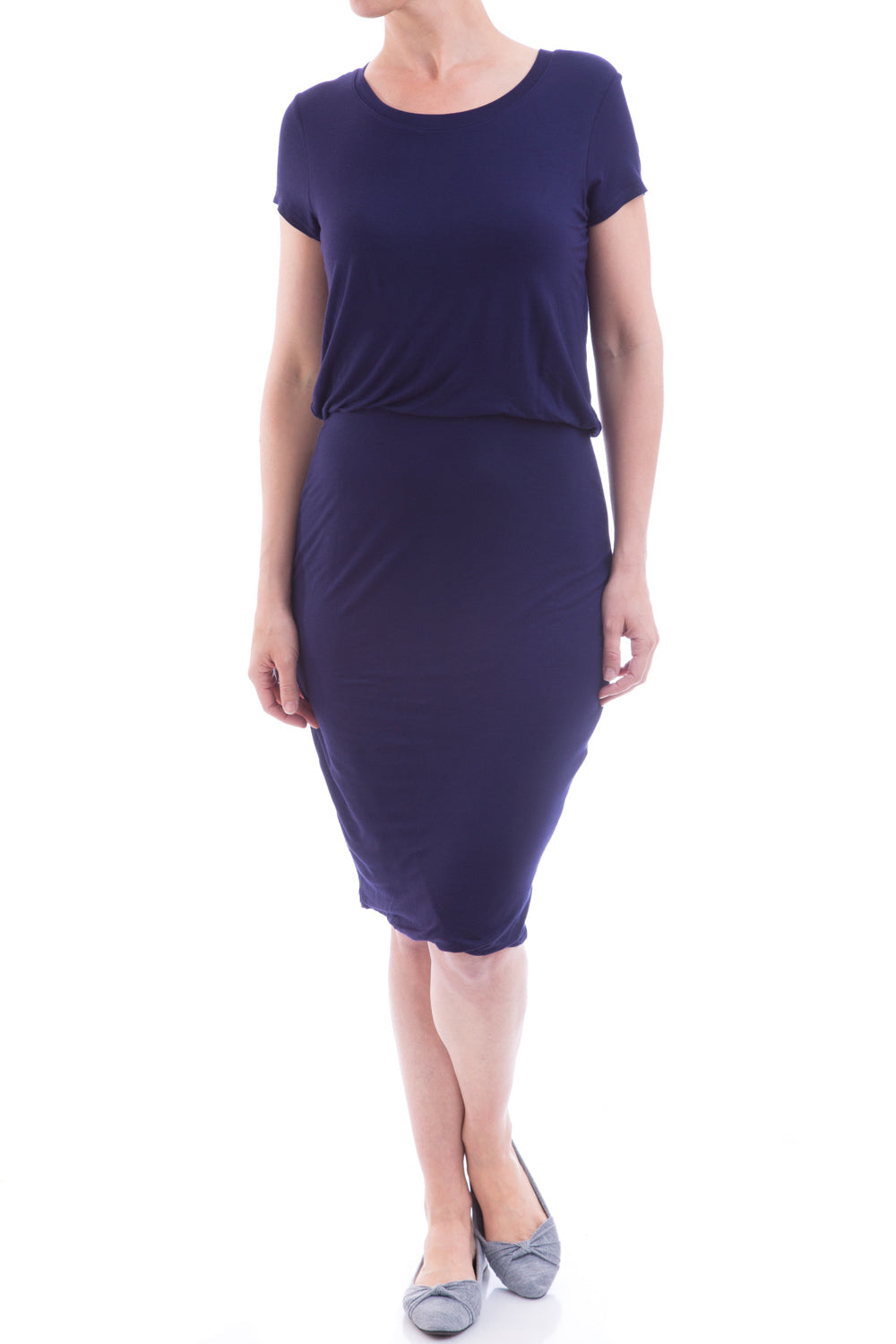 Type 2 Statuesque Dress In Navy