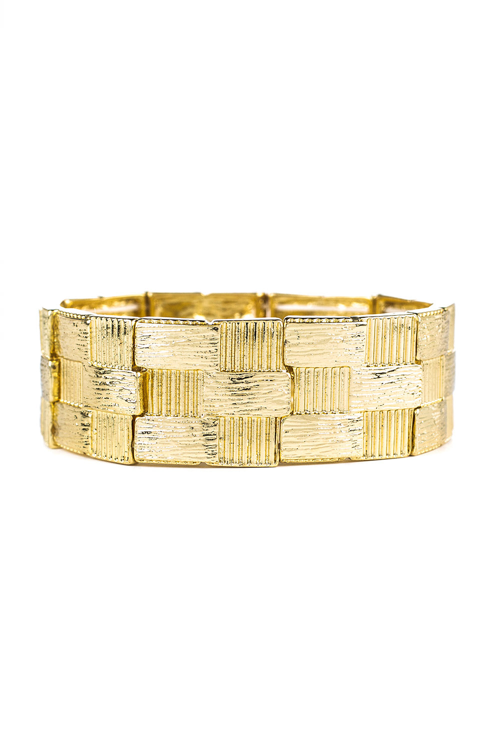 Type 3 Gold Basket Bracelet