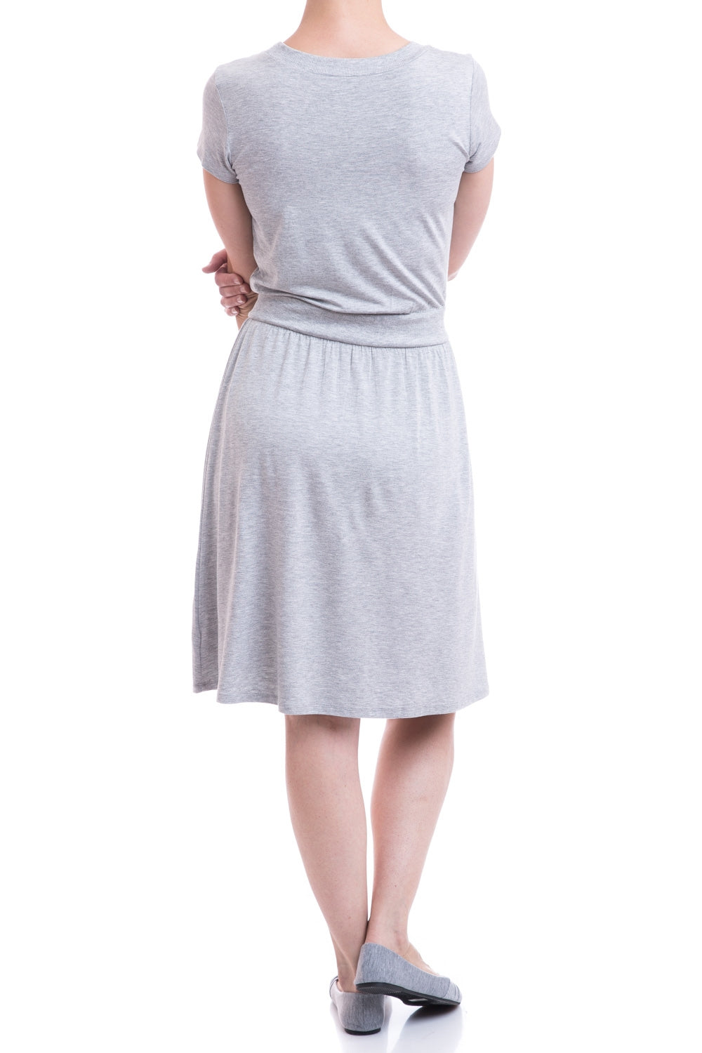 Type 2 Copacetic Dress In Heather Gray