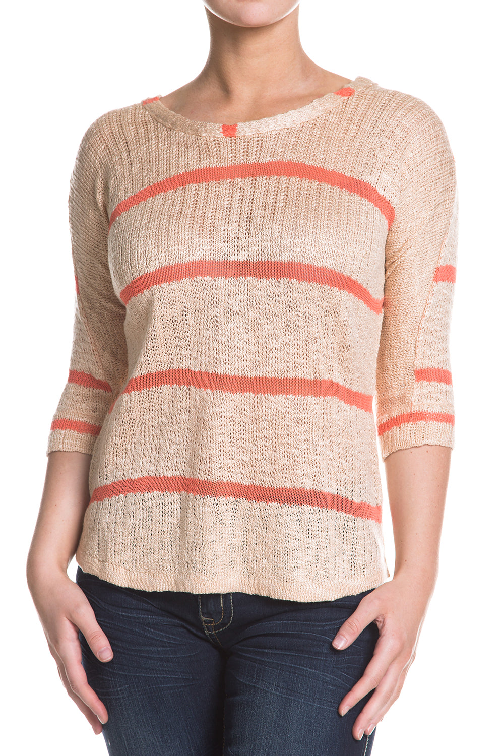 Type 3 Sun Bleached Coral Sweater