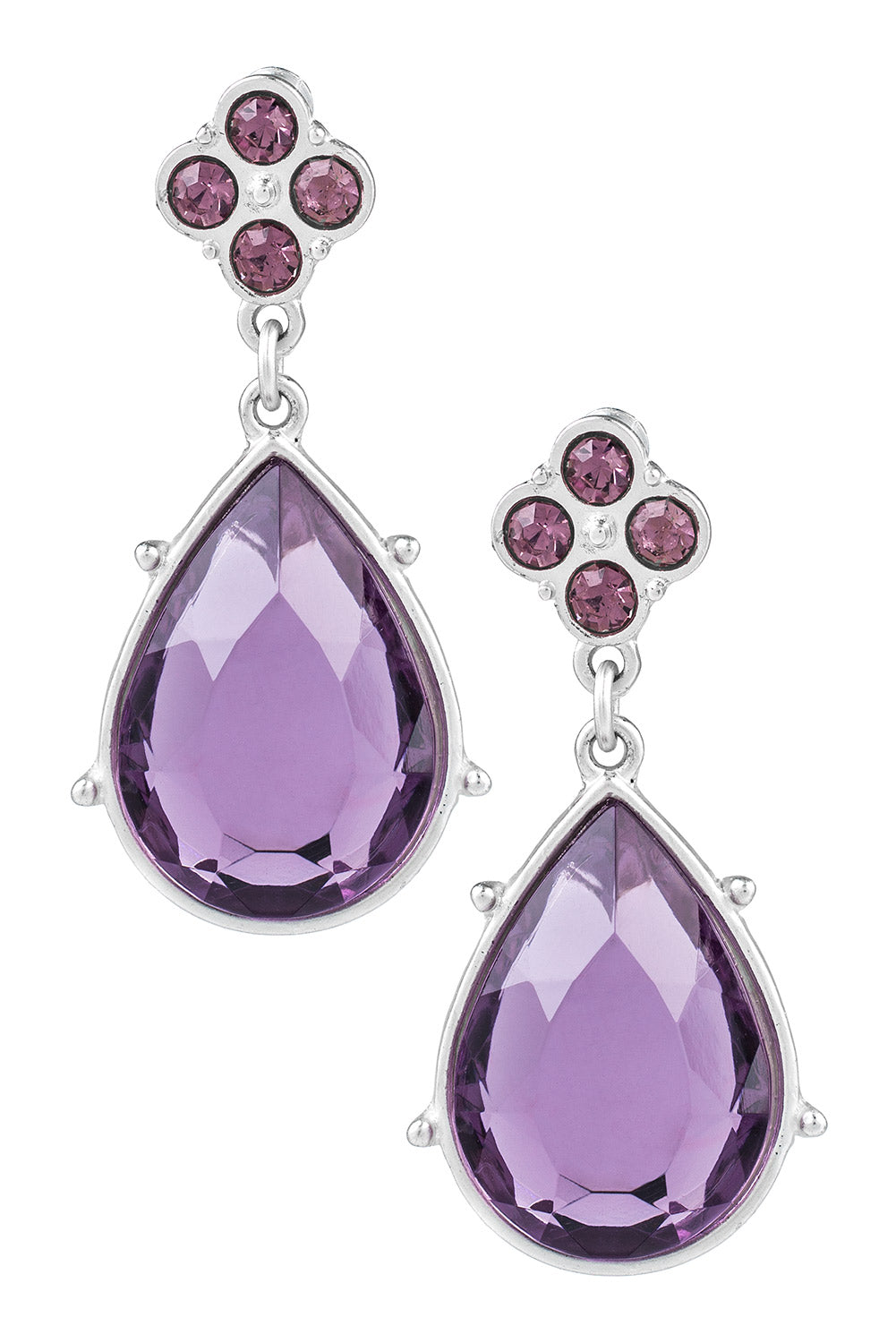 Type 2 Sweet Surrender Earrings in Purple