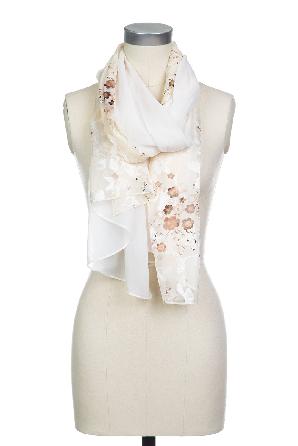 Type 2 Heavenly Scarf in Cream