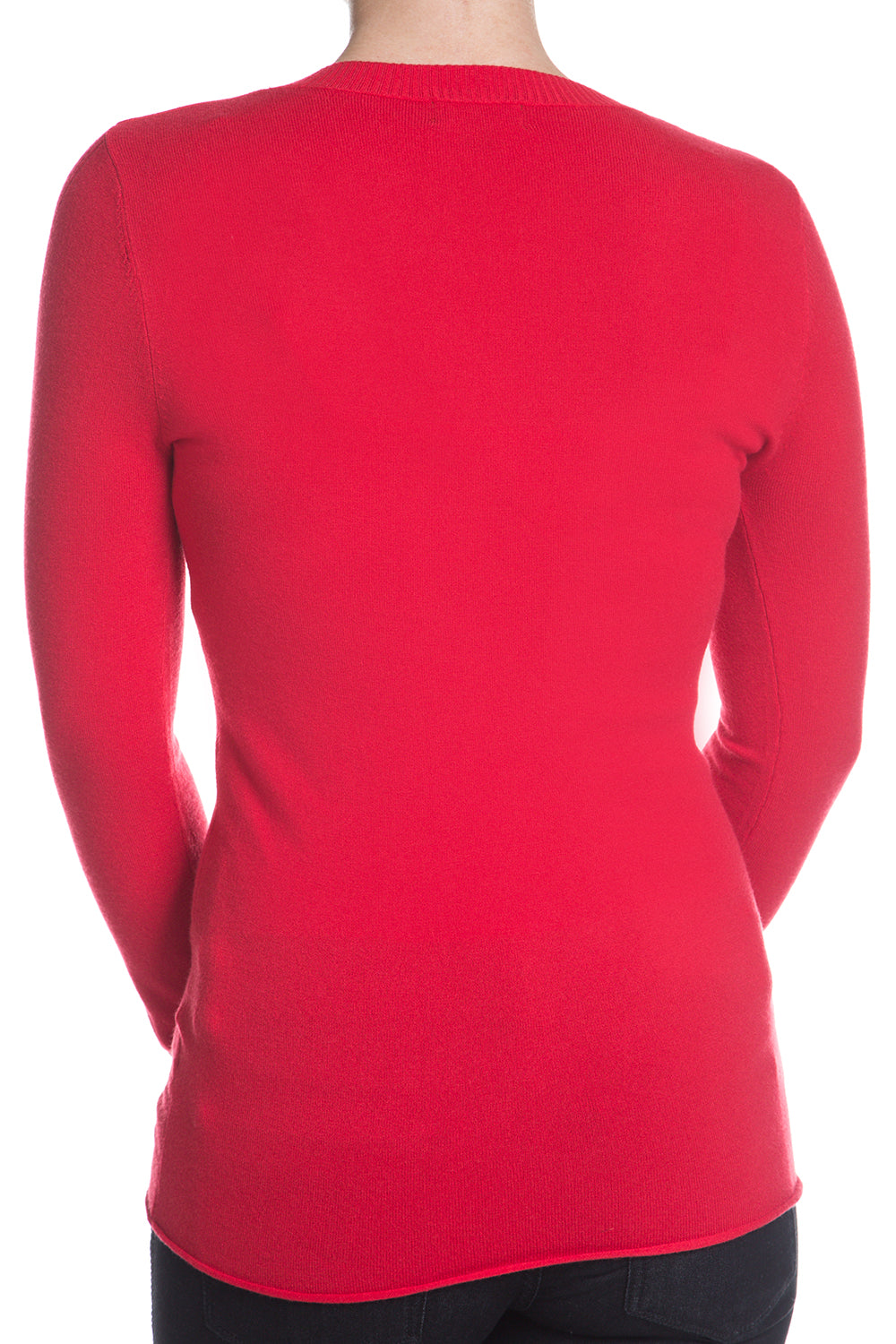 Type 4 Royally Ribbed Sweater In Red