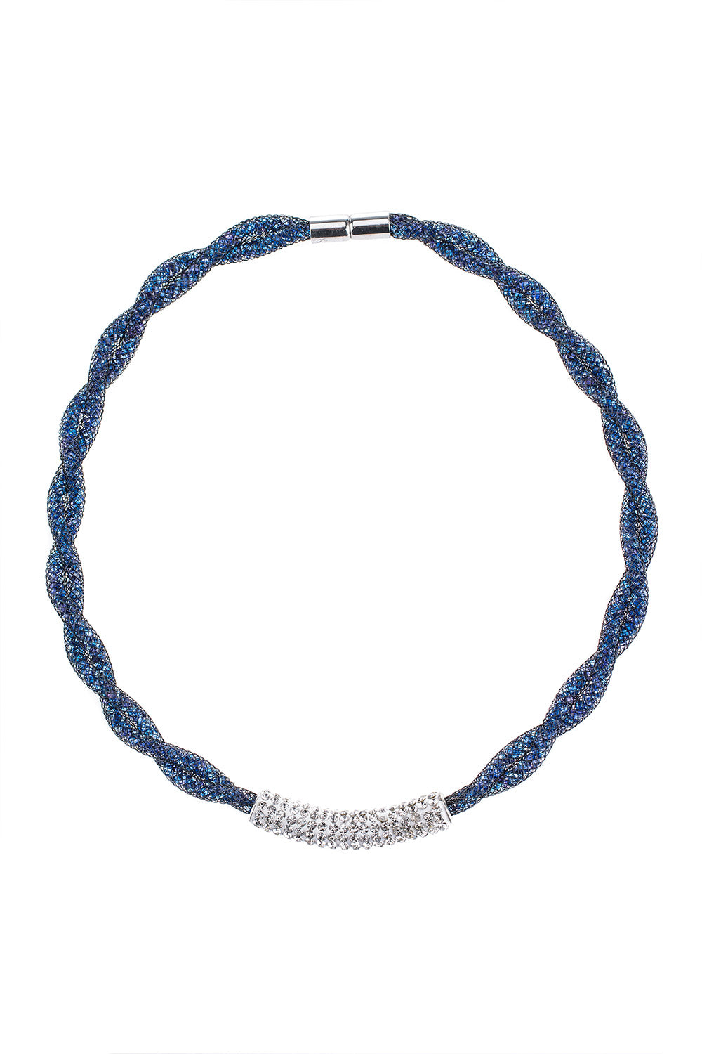 Type 4 Encased Sapphires Necklace
