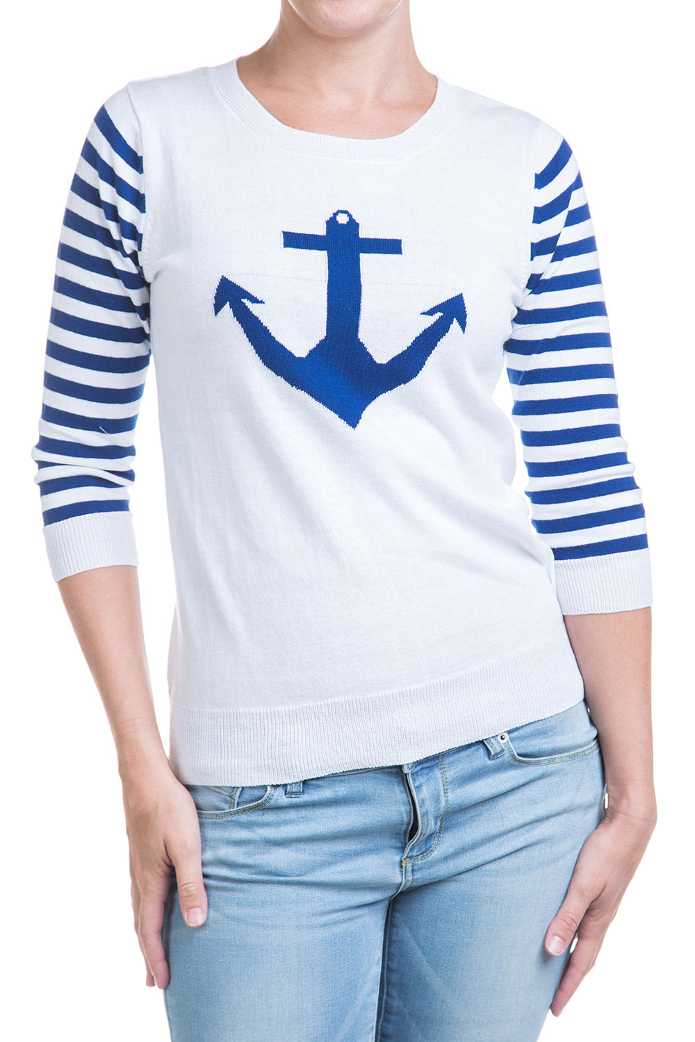 Type 1 Anchors Away Sweater