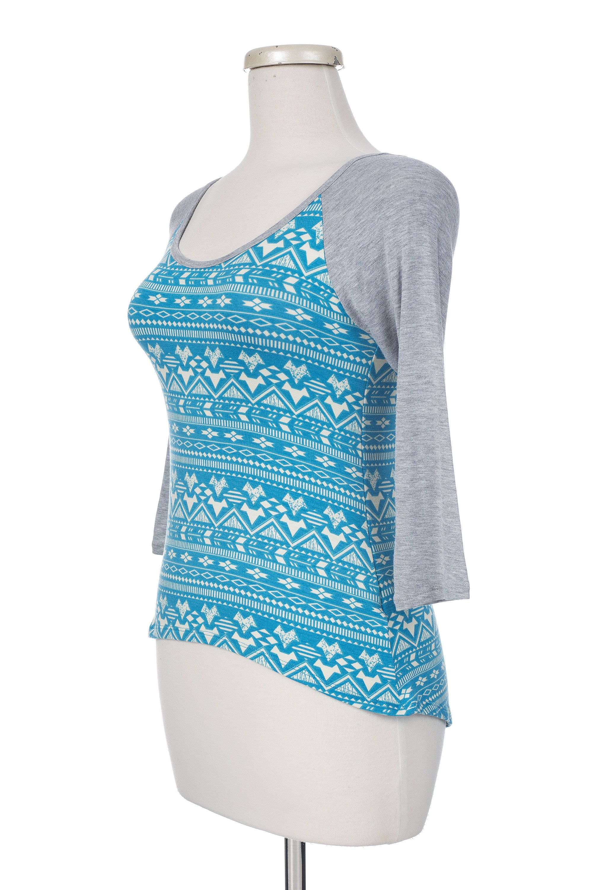 Type 2 Abstract Aztec Top