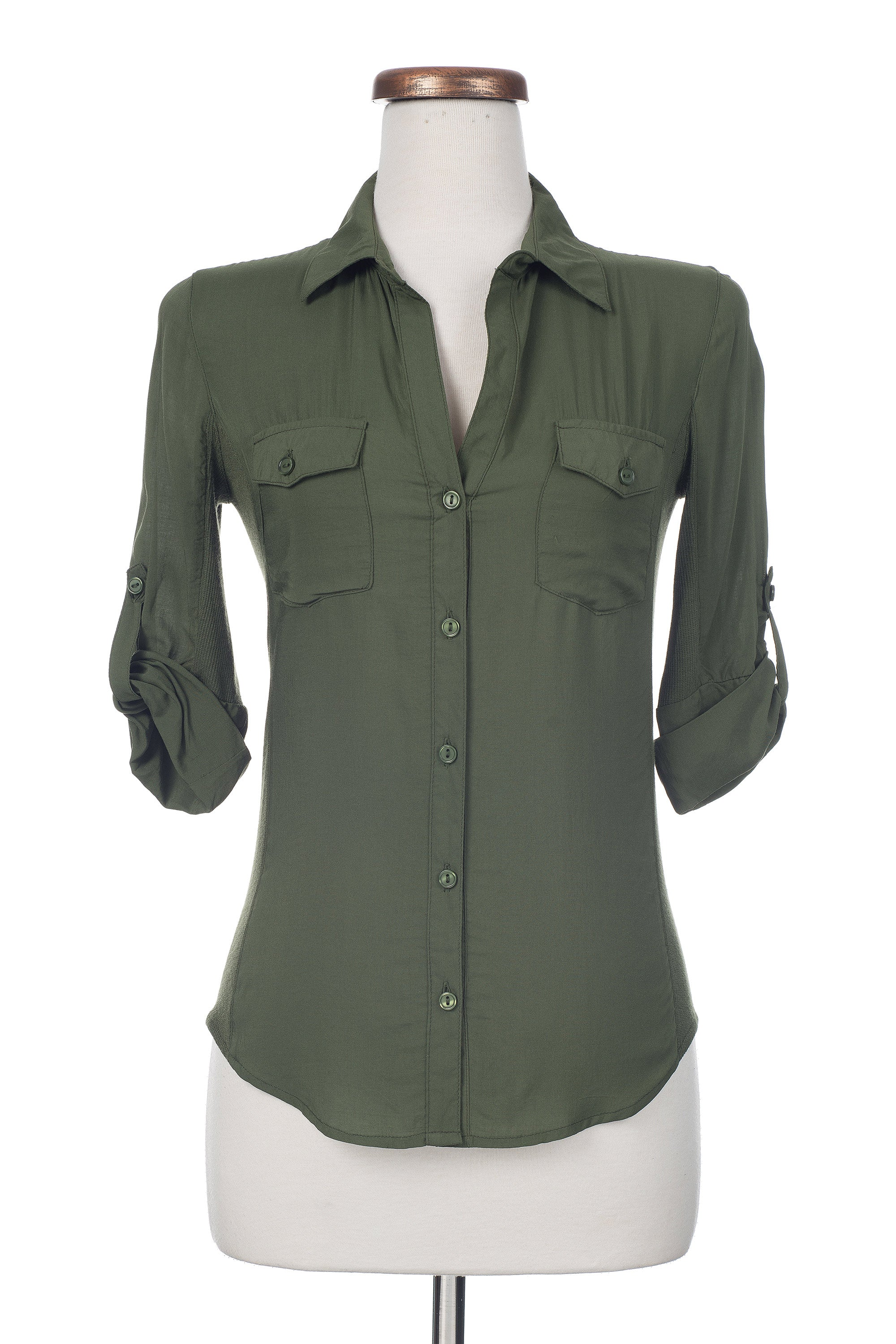 Type 3 Army Green Top