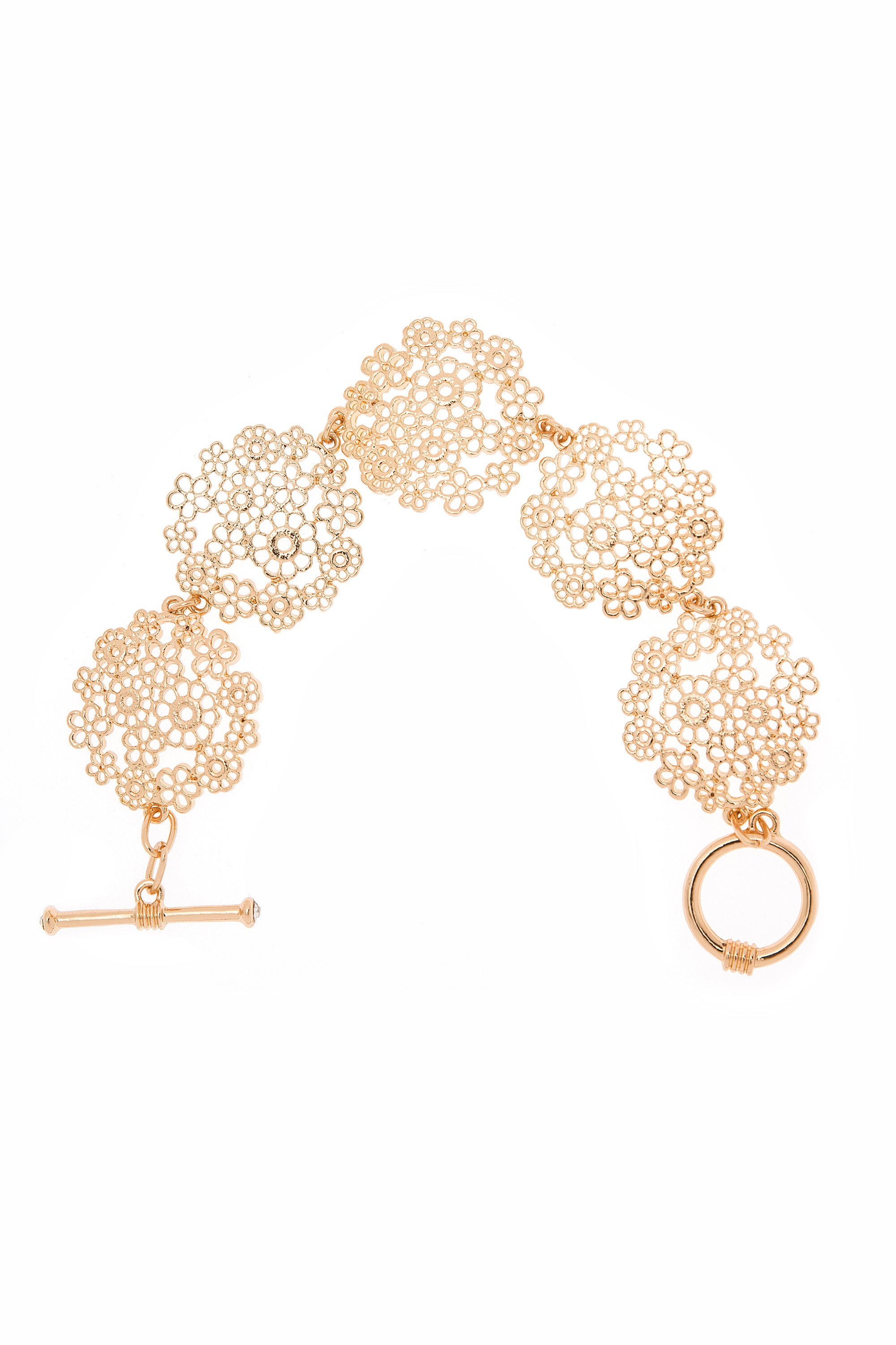 Type 1 Golden Posies Bracelet