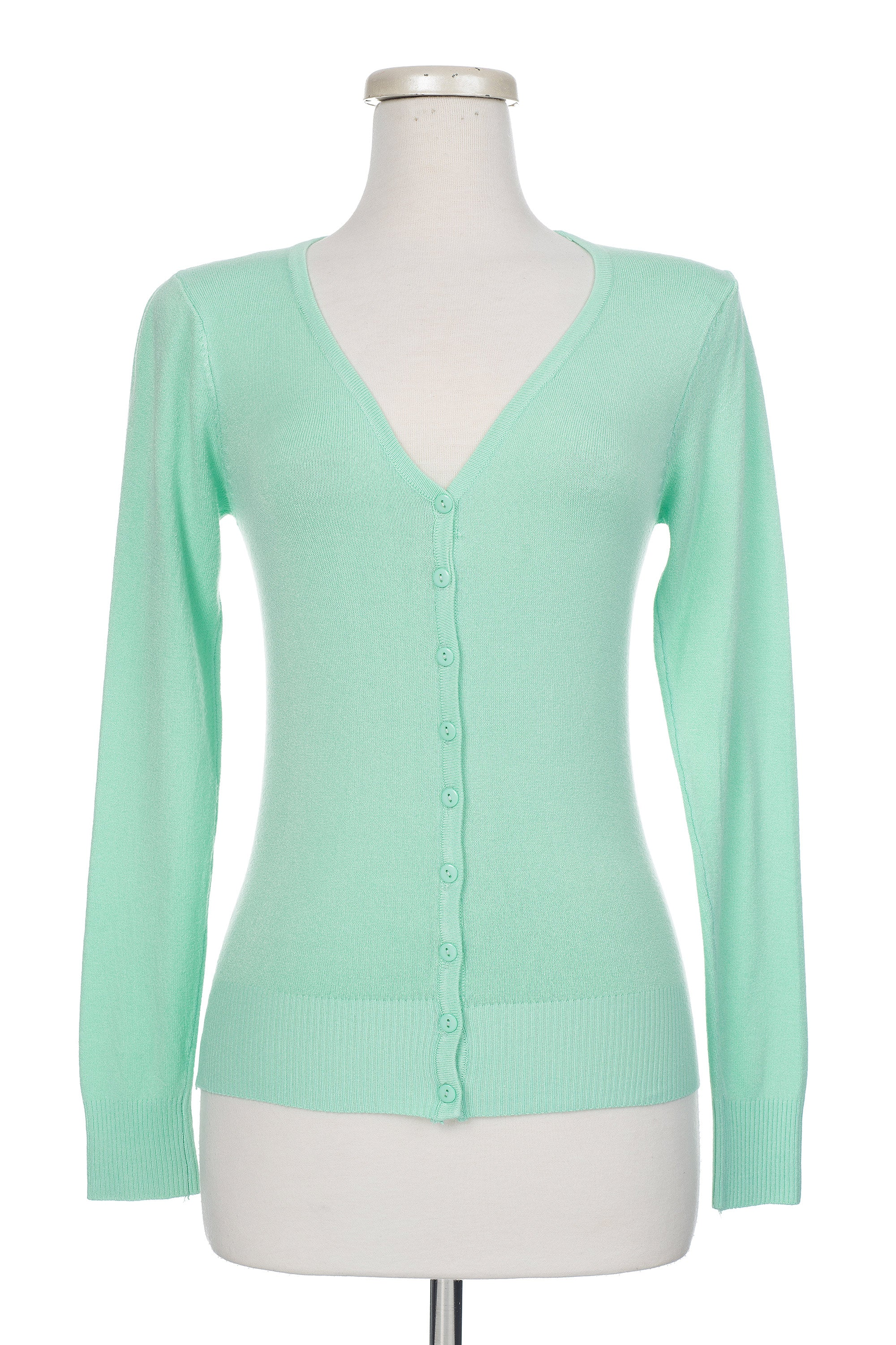 Type 1 Spearmint Cardigan