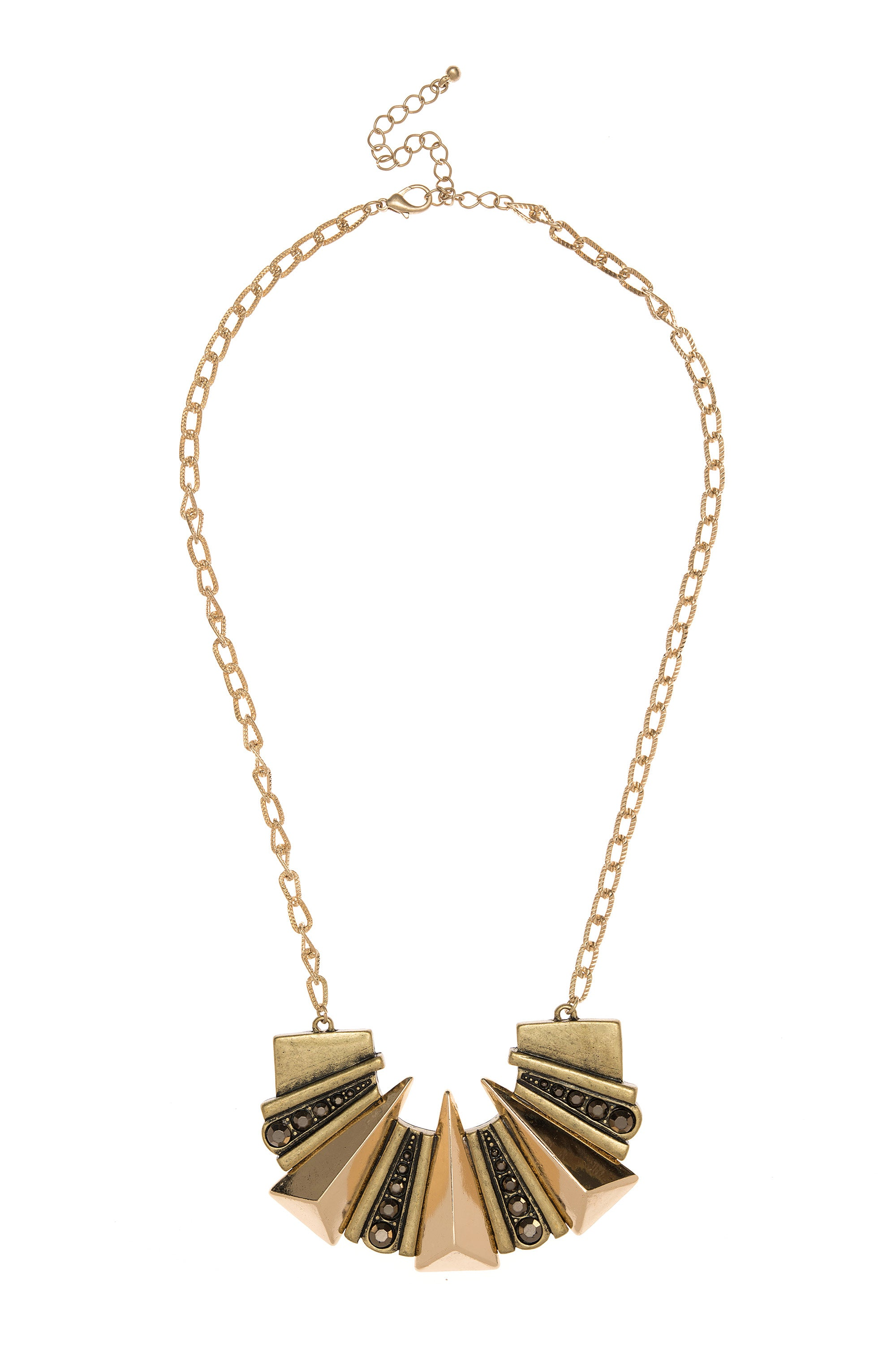 Type 3 Angular Accent Necklace