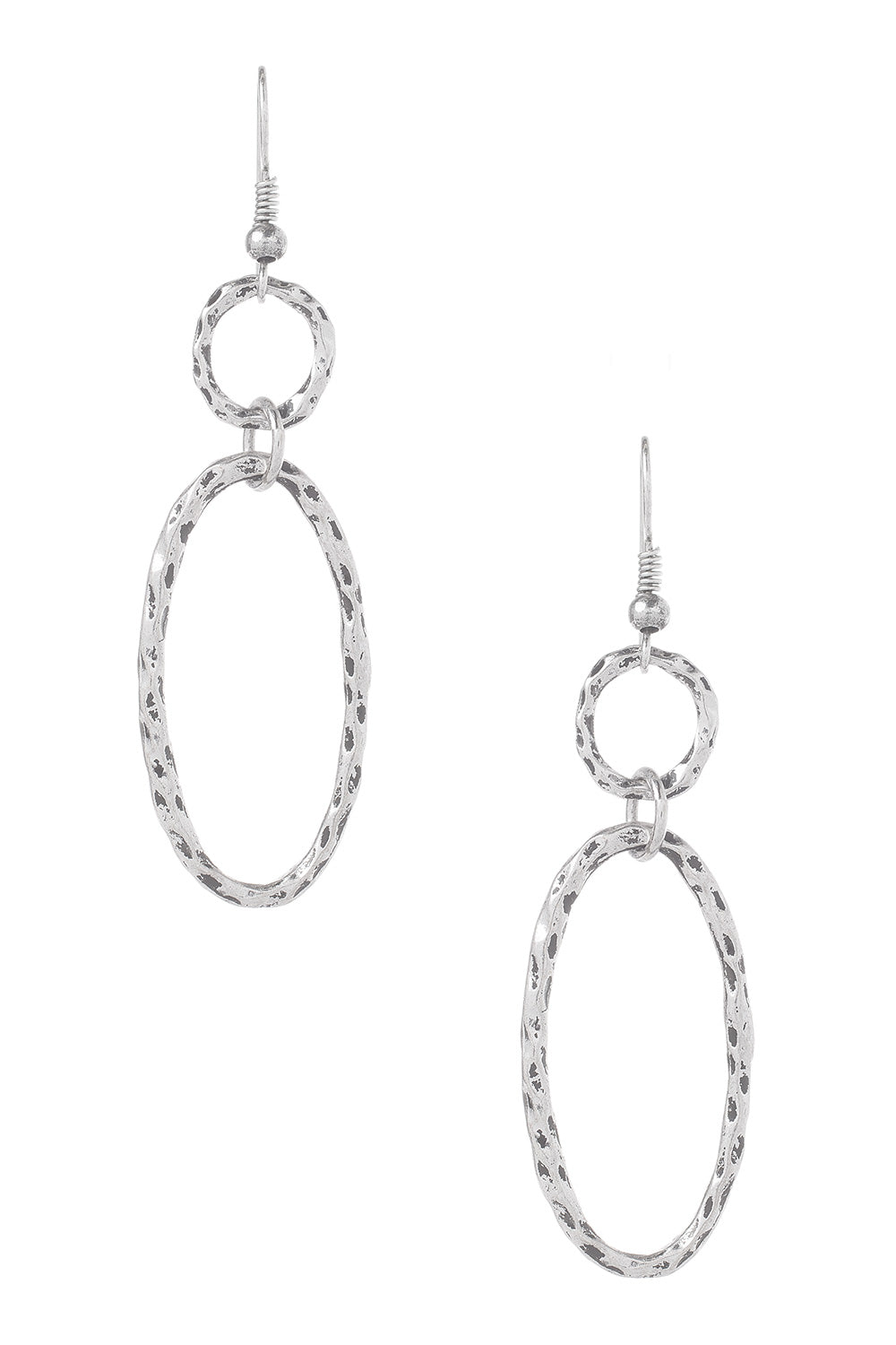 Type 2 Doubled Oval Earrings
