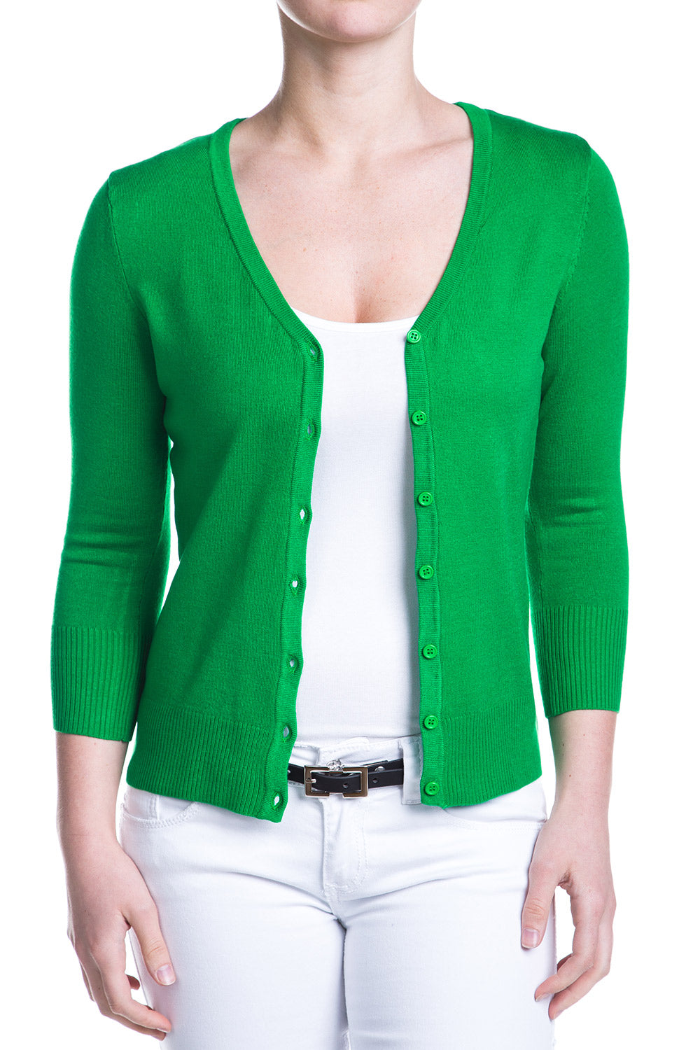 Type 4 Bright Green Cardigan