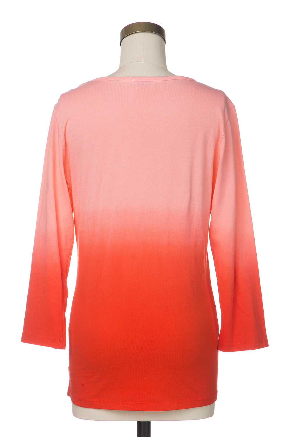 Type 3 Coral Ombre Top