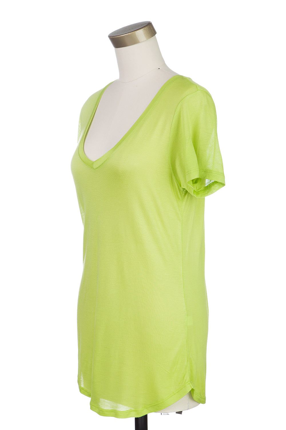 Type 3 Like Buddah Top in Green Apple