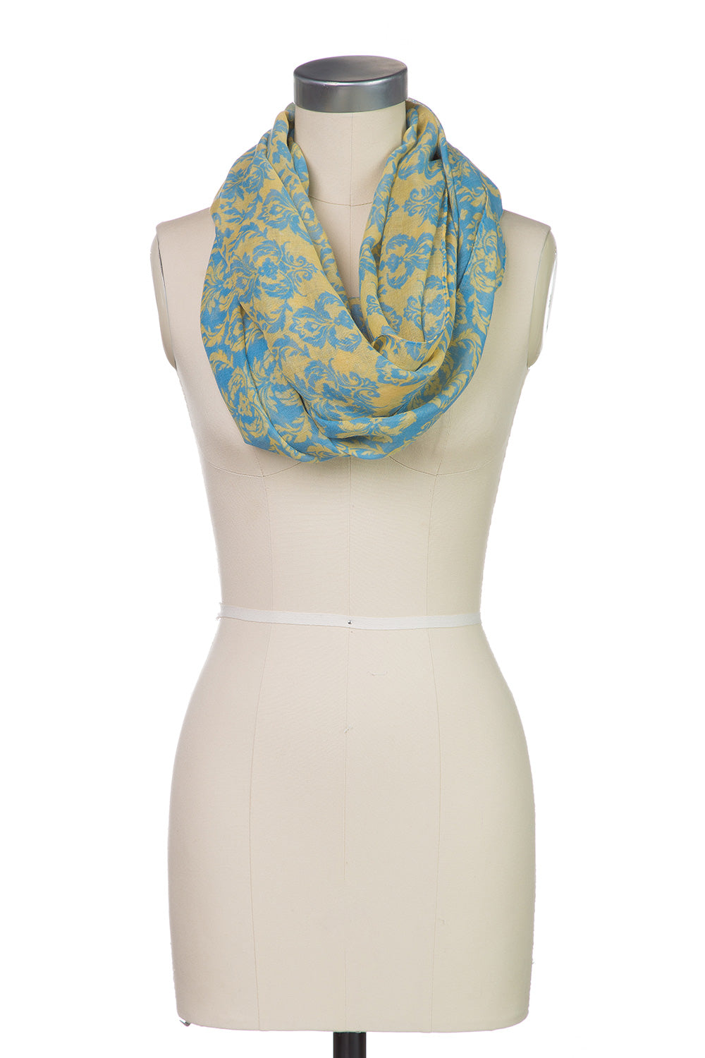 Type 2 Infinite Damask Scarf